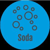 Tafelwasser oder Soda-Anlagen, Schankanlagen